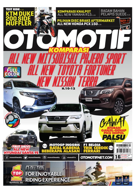 Tabloid OTOMOTIF - edisi 16/XXVIII