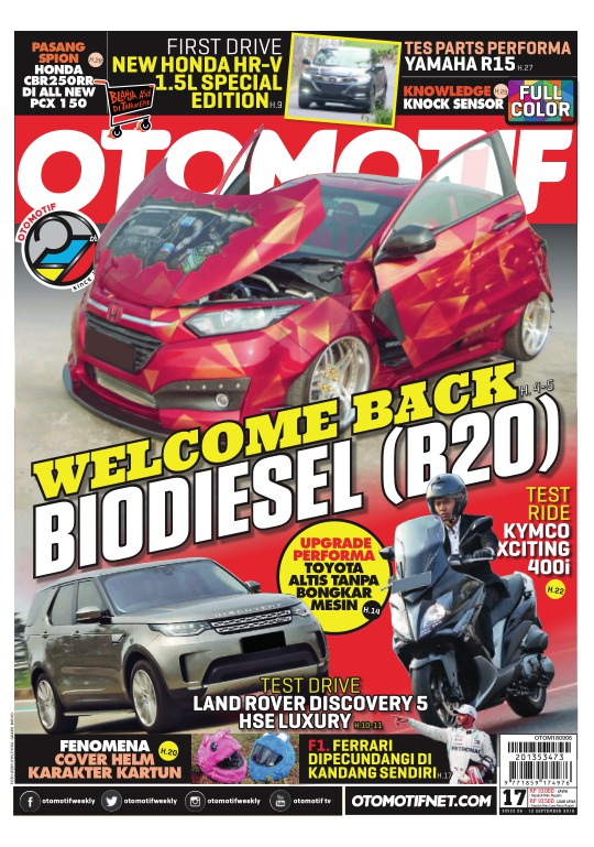 Tabloid OTOMOTIF - edisi 17XXVIII