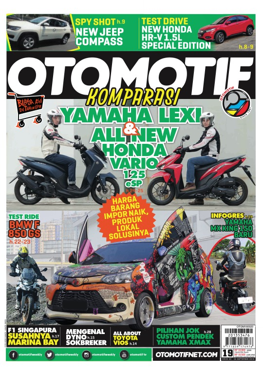 Tabloid OTOMOTIF - edisi 19-XXVIII