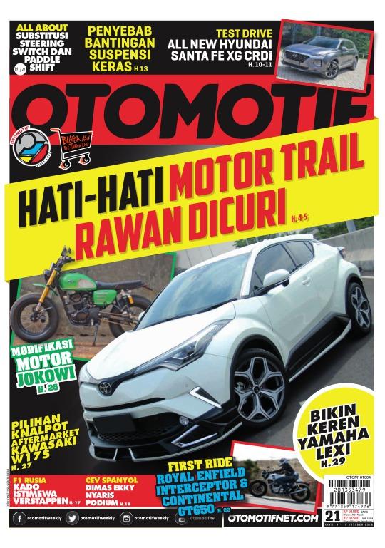 Tabloid OTOMOTIF - edisi 21-XXVIII