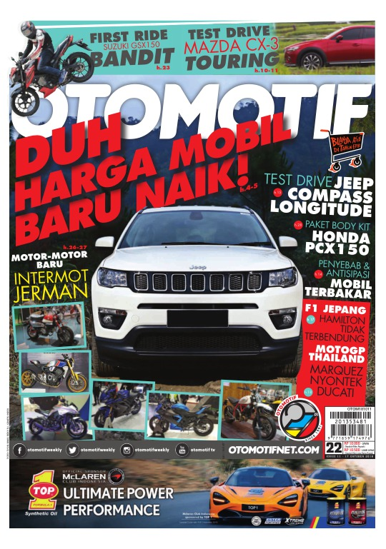 Tabloid OTOMOTIF - edisi 22-XXVIII