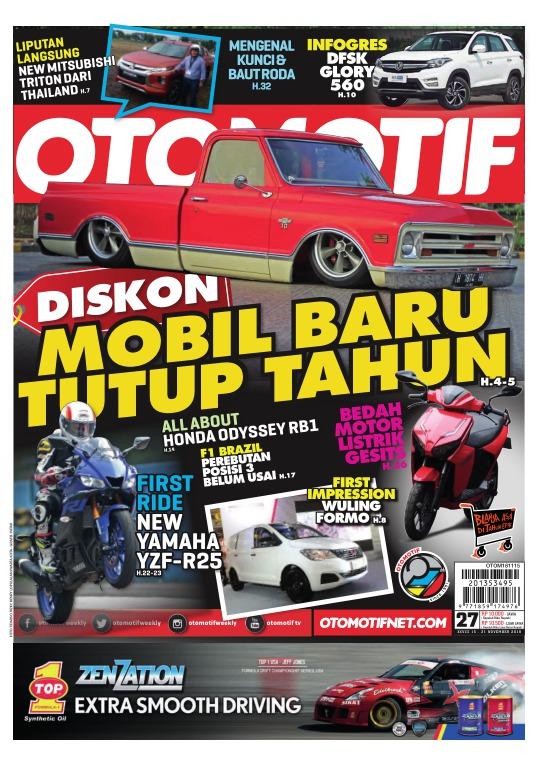 Tabloid OTOMOTIF - edisi 27-XXVIII