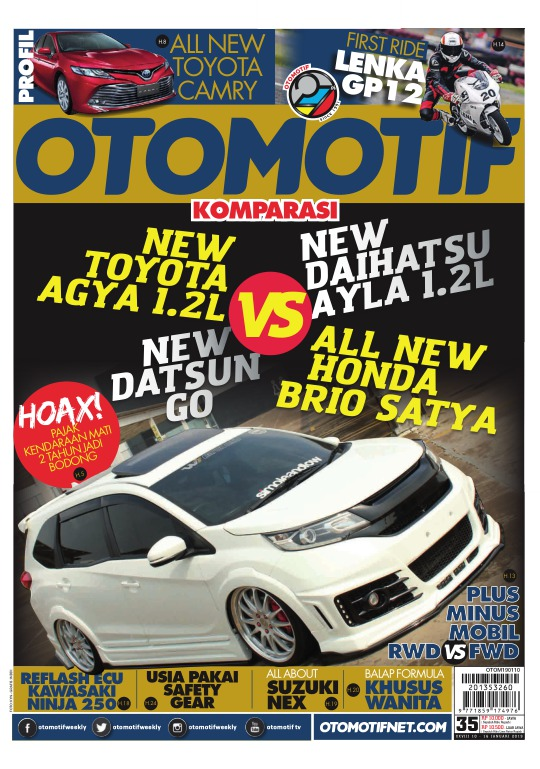 Tabloid OTOMOTIF - edisi 35-XXVIII