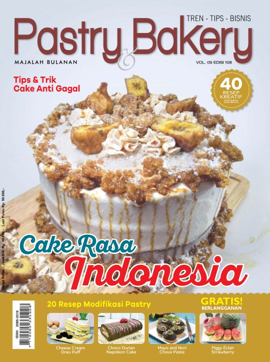 Majalah Pastry and Bakery - edisi Edisi 108