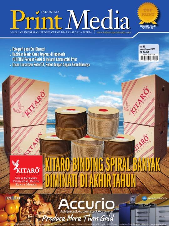 Majalah Print Media - edisi 86