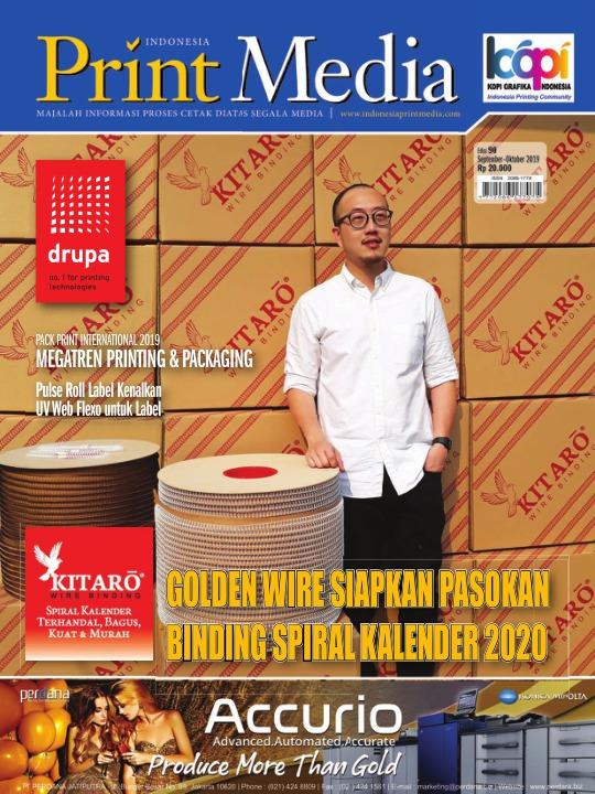Majalah Print Media - edisi 90