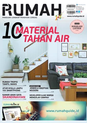10 material tahan air, edisi 362 - rumah