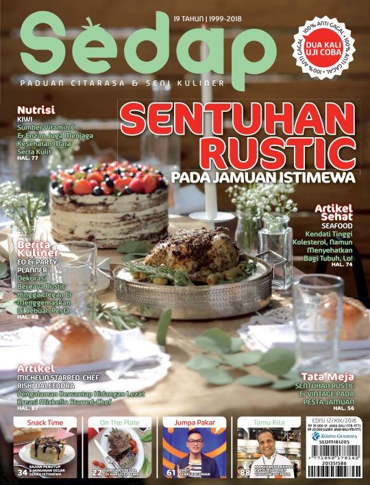 Majalah Sedap - edisi 12/2018
