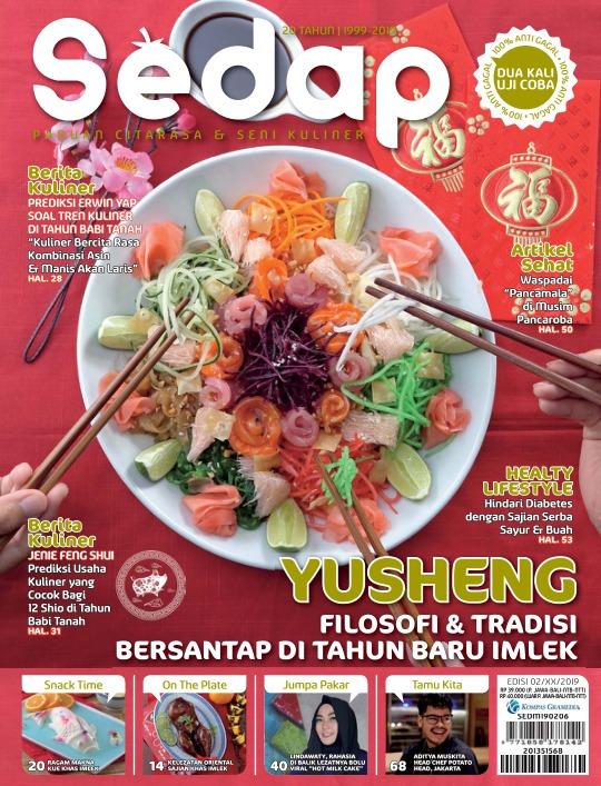 Majalah Sedap - edisi 02/2019