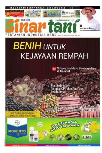 Tabloid Sinar Tani - edisi 3739