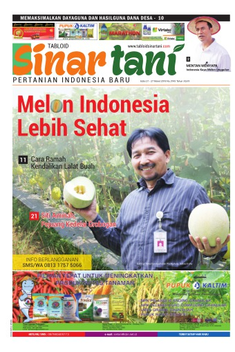 Tabloid Sinar Tani - edisi 3743