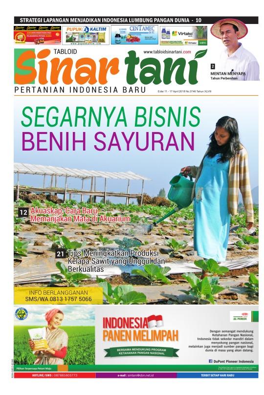 Tabloid Sinar Tani - edisi 3746