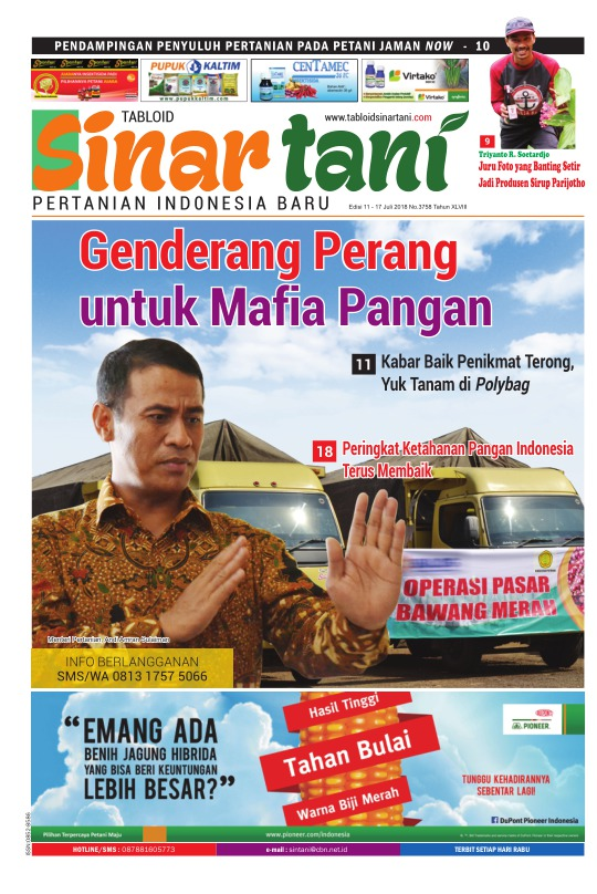 Tabloid Sinar Tani - edisi 3758