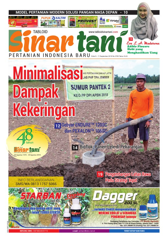 Tabloid Sinar Tani - edisi 3765