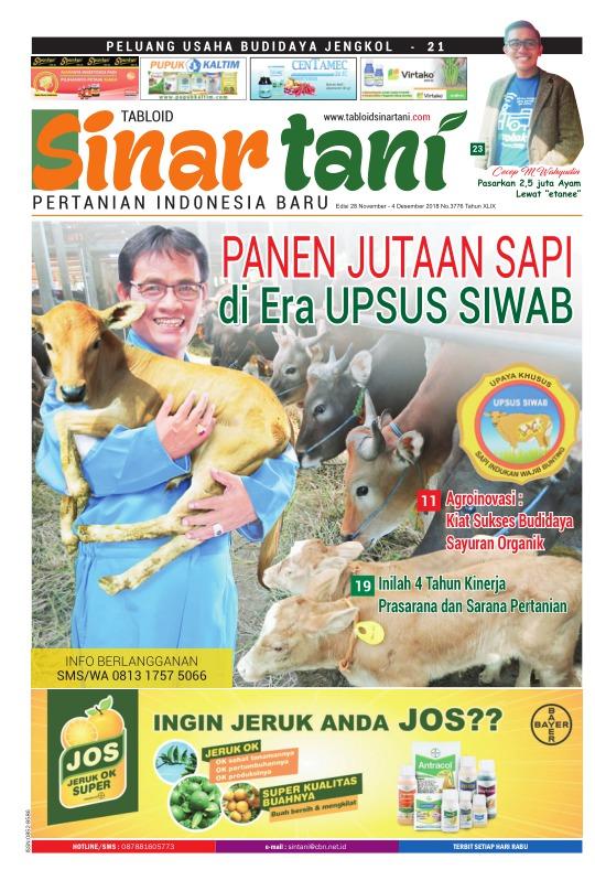 Tabloid Sinar Tani - edisi 3776