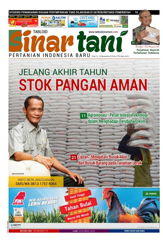 Tabloid Sinar Tani - edisi 3778