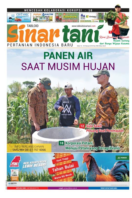 Tabloid Sinar Tani - edisi 3786