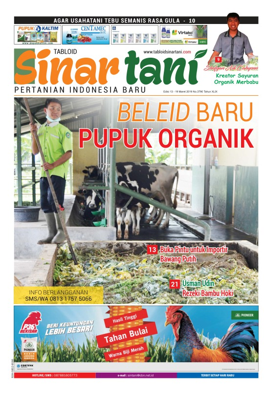 Tabloid Sinar Tani - edisi 3790