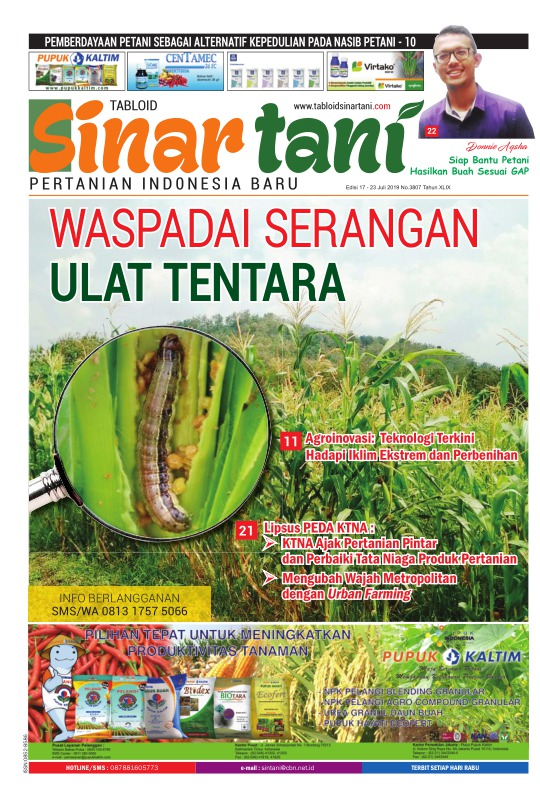 Tabloid Sinar Tani - edisi 3807