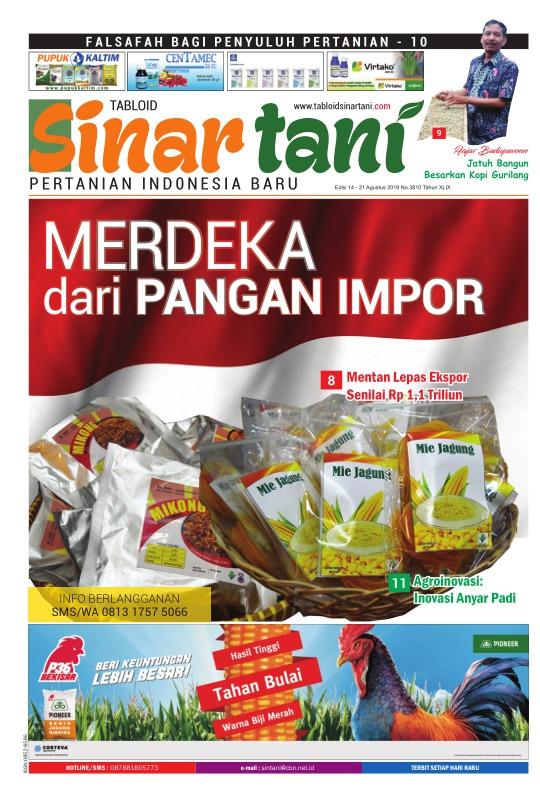 Tabloid Sinar Tani - edisi 3810