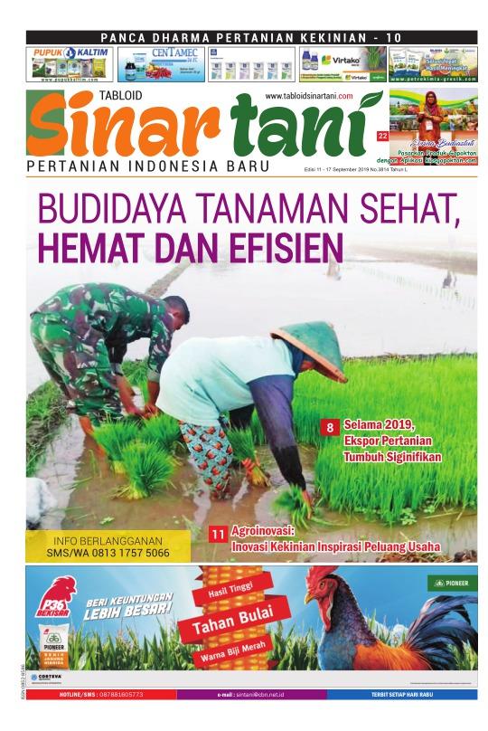Tabloid Sinar Tani - edisi 3814