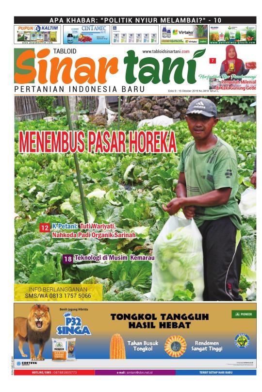 Tabloid Sinar Tani - edisi 3718