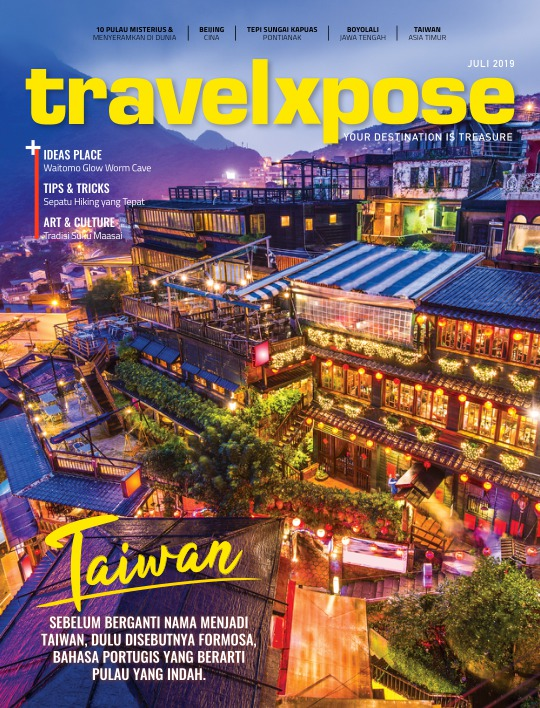 Majalah Travelxpose - edisi 07/2019