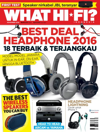 Majalah What Hifi - edisi 11/2016