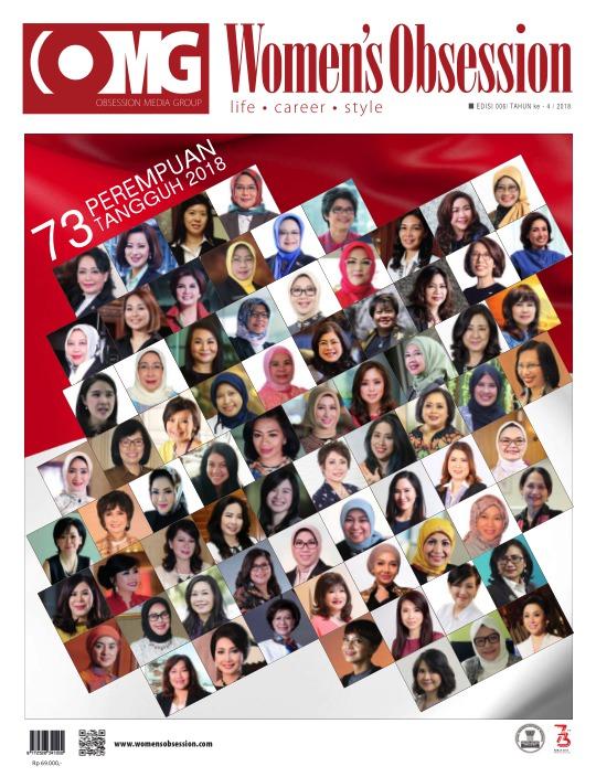 Majalah Womens Obsession - edisi 08/2018